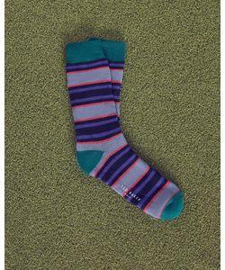 Ted Baker | Striped Cotton Socks