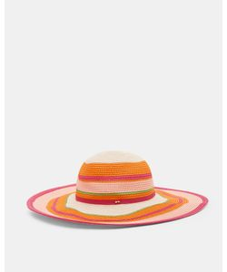 Ted Baker | Striped Sun Hat Fuchsia