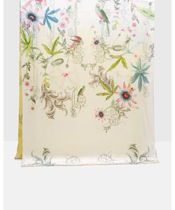 Ted Baker   Passion Flower Long Silk Cape