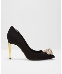 Ted Baker | Brooch Detail Wool Courts