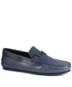 Tod's | City Gommino Loafers In Leather