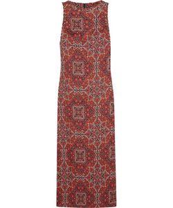 Zimmermann | Konya Printed Linen Maxi Dress