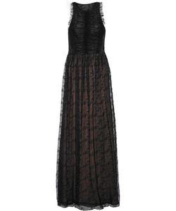 Jason Wu | Ruched Lace Maxi Dress