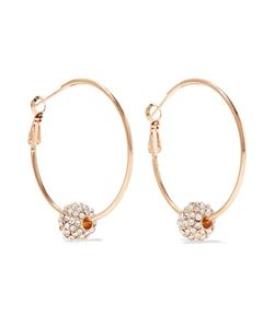 Kenneth Jay Lane | Plated Crystal Earrings