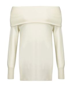Madeleine Thompson | Draped Cashmere And Wool-Blend Sweater Off-