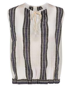 Lemlem   Striped Cotton-Blend Voile Top