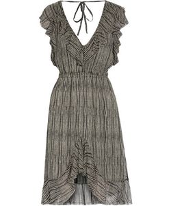 L'agence | Sophie Ruffled Silk-Chiffon Dress
