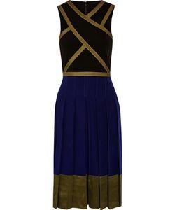 Ohne Titel | Stretch-Jersey Washed-Silk And Satin Dress