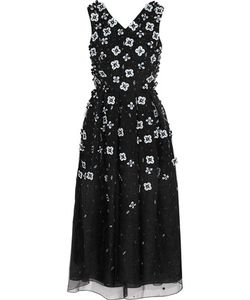Holly Fulton | Embellished Silk-Organza Dress
