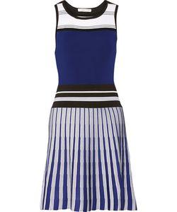 Ohne Titel | Striped Stretch Cotton-Blend Dress