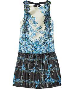 Tibi   Sidewalk Floral-Print Silk-Gazar Mini Dress