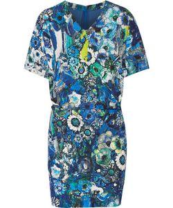 Just Cavalli | Floral-Print Stretch-Crepe Mini Dress