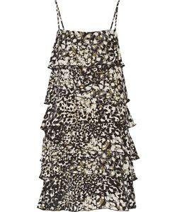 Rebecca Minkoff   Jessica Printed Silk Mini Dress