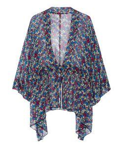 Anna Sui | Floral-Print Silk-Chiffon Kimono Jacket