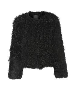 Ravn | Knitted Shearling Jacket
