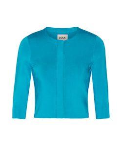 Issa | Mills Metallic Stretch-Knit Jacket