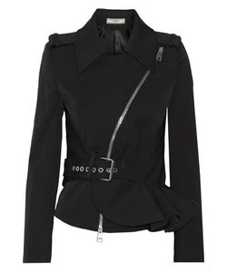 Bouchra Jarrar | Ruffled Stretch Wool-Blend Twill Jacket