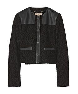 Jason Wu | Wool-Bouclé And Leather Jacket