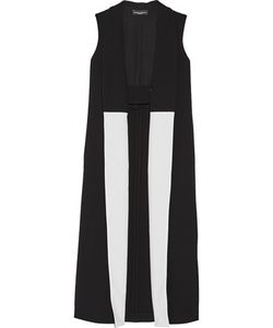 Narciso Rodriguez | Crepe-Trimmed Wool Vest