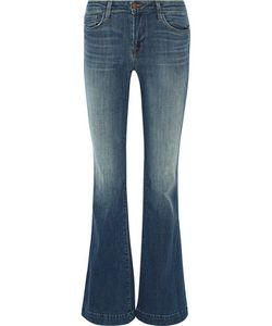 J Brand | Another Love Story Mid-Rise Flared Jeans Mid