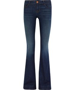 J Brand | Love Story Mid-Rise Flared Jeans