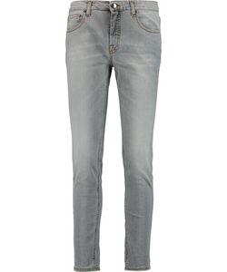 Victoria Beckham | Ankle Slim Mid-Rise Jeans