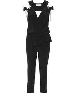 Thakoon Addition | Cutout Silk Jumpsuit