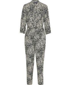 Vanessa Seward | Combinaison Printed Silk-Jacquard Jumpsuit