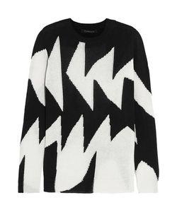 Thakoon | Intarsia Linen And Cotton-Blend Sweater