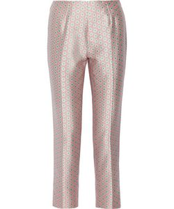 Raoul | Printed Silk And Cotton-Blend Straight-Leg Pants