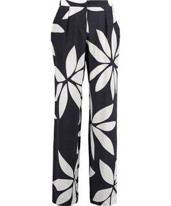Issa | Cerys Printed Silk Straight-Leg Pants