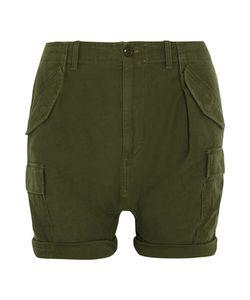 Nlst   Harem-Style Cotton Cargo Shorts