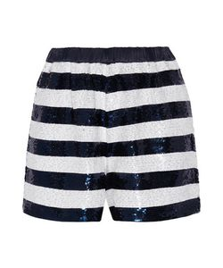 Sandro | Party Sequin-Embellished Knitted Shorts