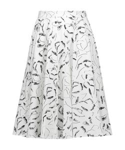 Raoul | Ivy Pleated Printed Cotton-Blend Skirt