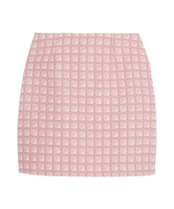 Alexander Lewis | Morningside Cotton-Jacquard Mini Skirt