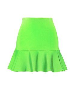 Issa | Arabella Neon Stretch-Knit Mini Skirt