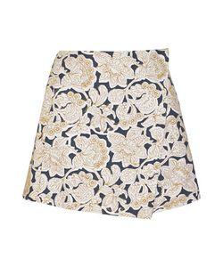 Suno | Embroidered Cotton-Canvas Mini Skirt