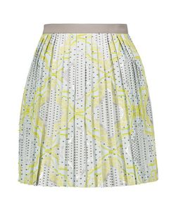 Raoul | Pleated Cotton-Blend Jacquard Mini Skirt