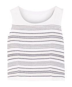 Lemlem | Kedame Striped Cotton-Blend Gauze Top