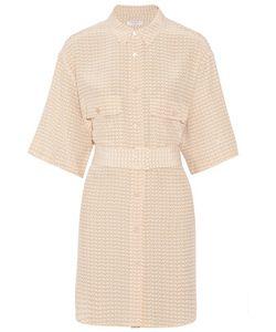 Equipment | Matteo Printed Washed-Silk Mini Dress