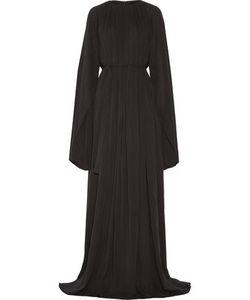 Gareth Pugh   Stretch-Silk Georgette Gown
