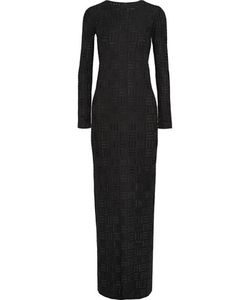 Gareth Pugh | Stretch Fil Coupé Maxi Dress