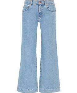 M.i.h Jeans | Topanga Mid-Rise Wide-Leg Jeans