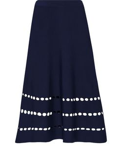 Ohne Titel | Cutout Stretch-Knit Skirt