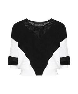 Ohne Titel | Paneled Knitted Cotton Sweater