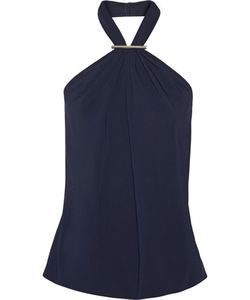 Jason Wu | Stretch-Crepe Halterneck Top