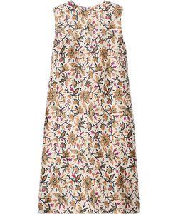 Tory Burch | Esmeralda Print Silk-Crepe Dress