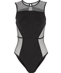 Koral | Fortune Mesh-Paneled Bodysuit