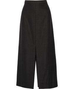 Protagonist | Split Twill Midi Skirt