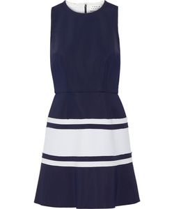 Tanya Taylor | Lora Two-Tone Scuba Mini Dress
